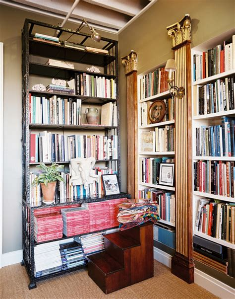 faux built in bookshelves built in bookcase photos 30 of 94 lonny