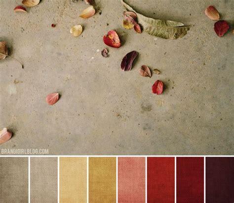 autumn color palette color schemes