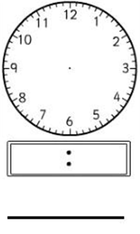 printable clock paddles 1000 images about teaching jp mp telling time on