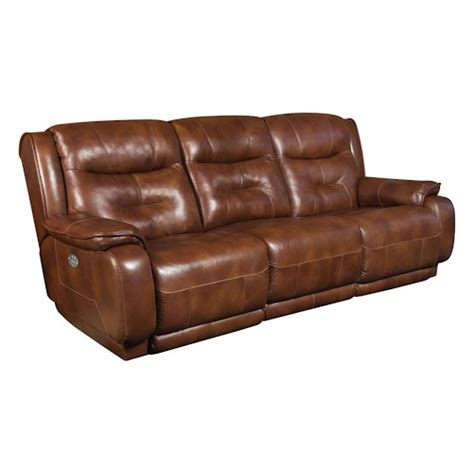 southern motion crescent double reclining sofa with power
