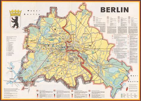 map of germany showing berlin berlin a cold war map showing the berlin wall as a