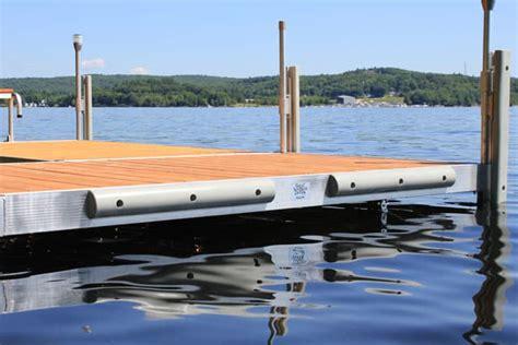 round boat dock bumpers duralite premium grade aluminum docks boat docks