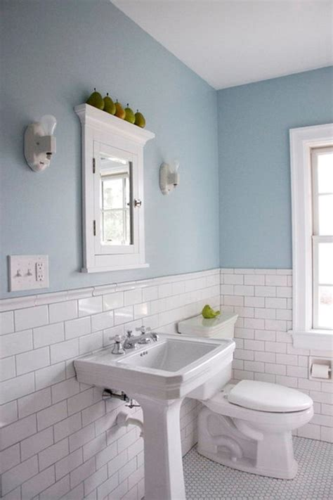 half tiled bathroom ideas popular materials of white tile bathroom midcityeast