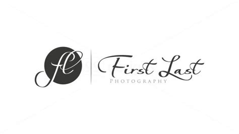photographer name design 2 ready made logo designs
