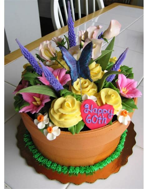 20 Super Amazing And Fantastic Cakes Page 16 Of 20 Flower Garden Cake Ideas
