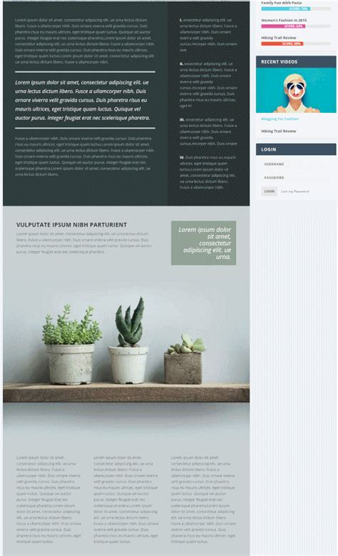 wordpress article layout a forecast of 2016 web design trends elegant themes blog