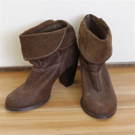 mudd boots mudd brown ankle boots from s closet on poshmark