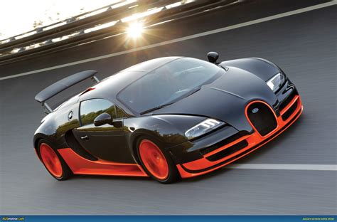 Bugati Veryon by Ausmotive 187 Bugatti Veyron Sport Sets New