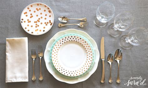 setting a table entertaining tips setting a proper table sincerely