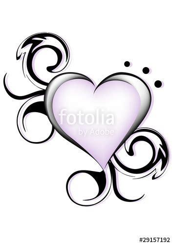 tatuaggi lettere cuore quot cuore stilizzato tatoo quot immagini e vettoriali royalty