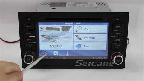 manual repair free 2005 audi a4 navigation system android 4 0 audi a4 gps navigation system 3g wifi youtube