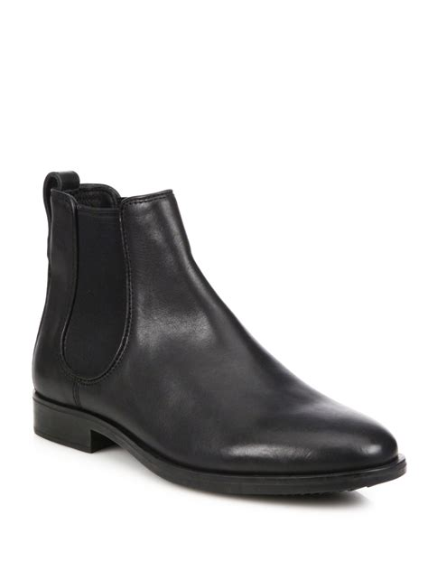 coach boots mens coach claremont chelsea boots in black for lyst
