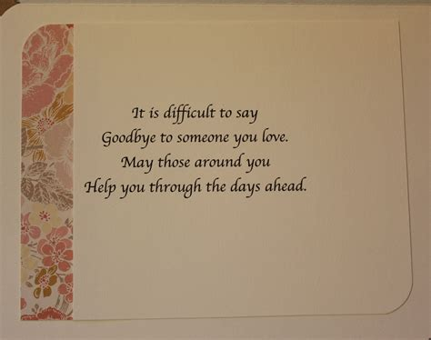 card and messages sympathy quotes funerals quotesgram