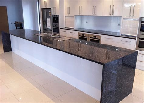 Kitchen Kitchen Peninsula Waterfall Top pictures
