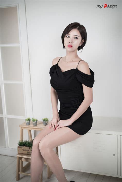 Ha Black choi byeol ha black dress yukamomo