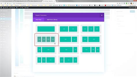 html layout offset divi blog grid offset content with hover animation
