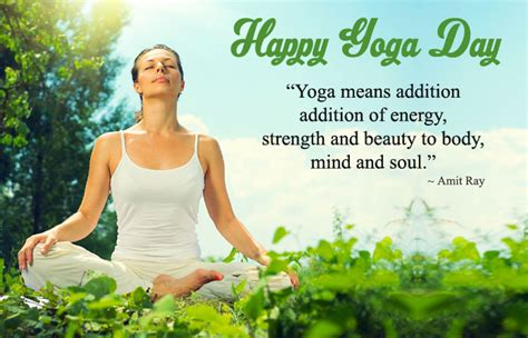 happy yoga day images  hindi english