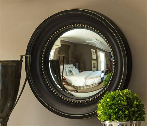 Ballard Designs Coupon black and gold colonial convex wall mirror wall decor
