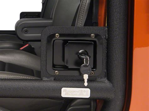 Rugged Ridge Latch Jk by Rugged Ridge Wrangler Door Latch Set Pair For Half And