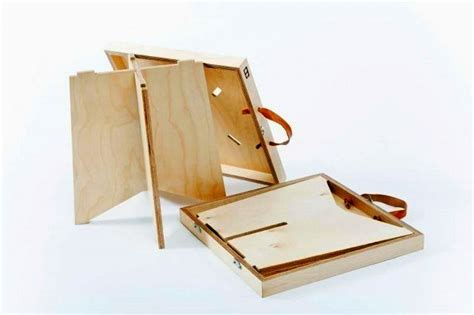Book Stool by Fold The Book Stool And Carry It Along Like A Suitcase