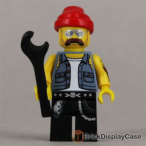 Lego Minifigures Series 10 Mechanic Misp motorcycle mechanic lego minifigures series 10 w free