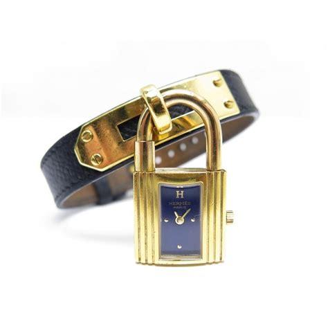 montre cadenas hermes prix montre hermes kelly cadenas bracelet cuir bleu