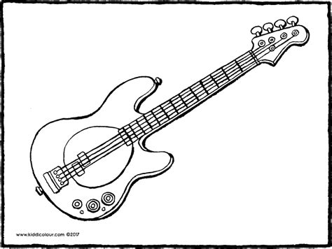 Electric Guitar Coloring Page by Electric Guitar Coloring Pictures Bltidm