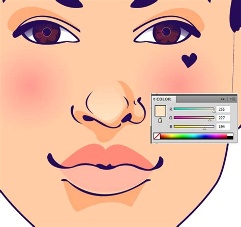 vector skin tone tutorial a quick lesson on using different skin tones in portrait