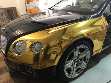 gold chrome bentley bentley chrome gold