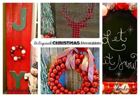 re purposed christmas decorations lou lou girls