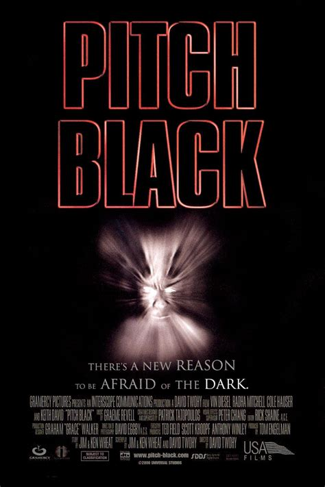 pitch black    extra large  poster image