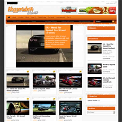 free website templates for youtube youtube video blogger templates latest blogger video