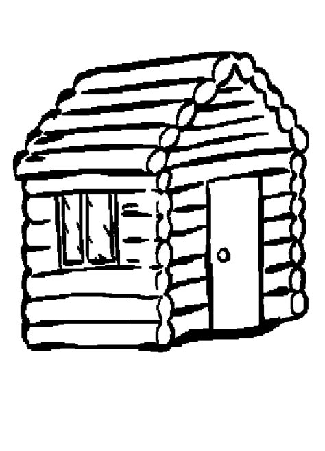 wood house coloring pages log cabin coloring page clipart panda free clipart images