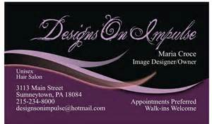 hair salon business card salon business card from valhalla designs in morriston fl 32668