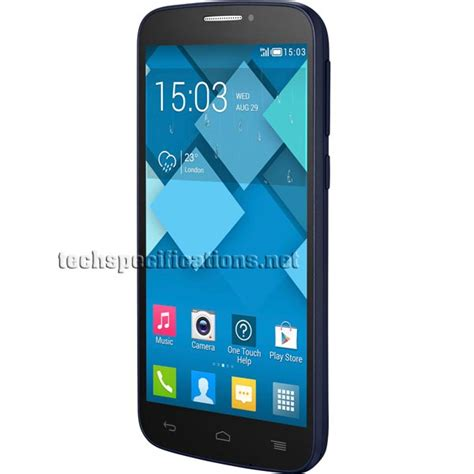 Hp Alcatel Pop C7 alcatel one touch pop c7 mobile phone tech specs