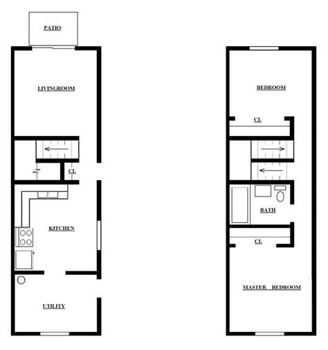 Three Bedroom Townhouse Floor Plans two bedroom townhouse