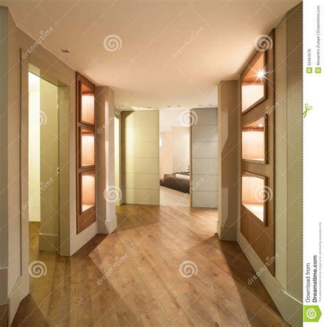 Couloir Maison Moderne by Couloir D Une Maison Moderne Photo Stock Image 55464578