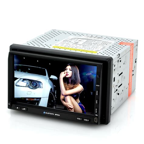 Din Car Multimedia Player Touch Screen 65 Inch Built In Bt nitro 2 din car dvd player with dvb t tv 7 inch touch screen gps windows ce 6 0 tjy c191