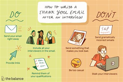 thank you email after job interview 8 free word excel pdf