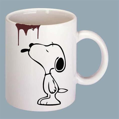 Snoopy Mug iş yerinde 231 alışırken veya evinizde keyif yaparken 231 ay ve kahve i 231 meyi seviyorsanız tam size