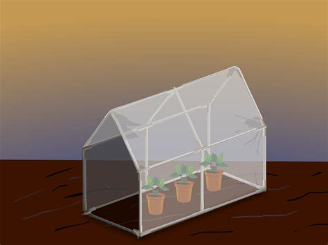 how to make a green house 3 ways to make a mini greenhouse wikihow