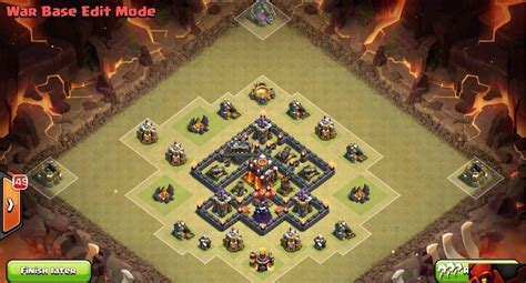layout kuat th 5 coc 8 best th5 war bases layouts april 2018 coc base