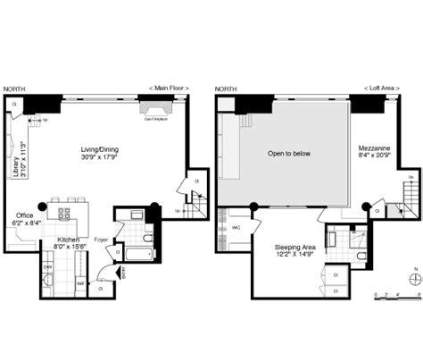 mezzanine floor plan house when beautiful things happen to high ceilings 720 greenwich loft sells big after