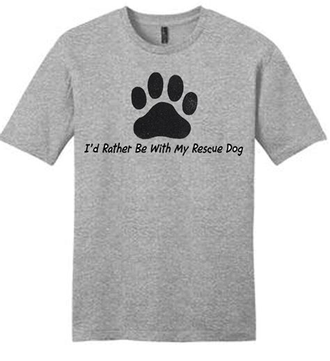 t shirts for dogs i d rather be with my 187 rescue t shirt