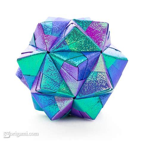 Modular Origami Balls - sonobe variation modular origami go origami