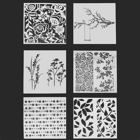 Scrapbooking Stencils And Templates other photo layering scrapbooking painting stencils embossing airbrush templates craft