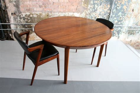 danish modern rosewood dining table by kai kristiansen at