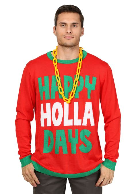 To Sweater Happy happy holla days sweater