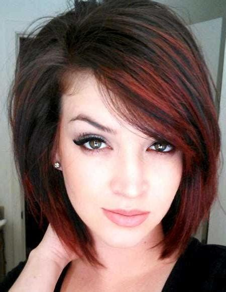 red book 20 best haircuts 20 inspirations of short hairstyles with red highlights