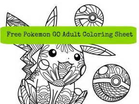 free pokemon coloring sheet craft gossip